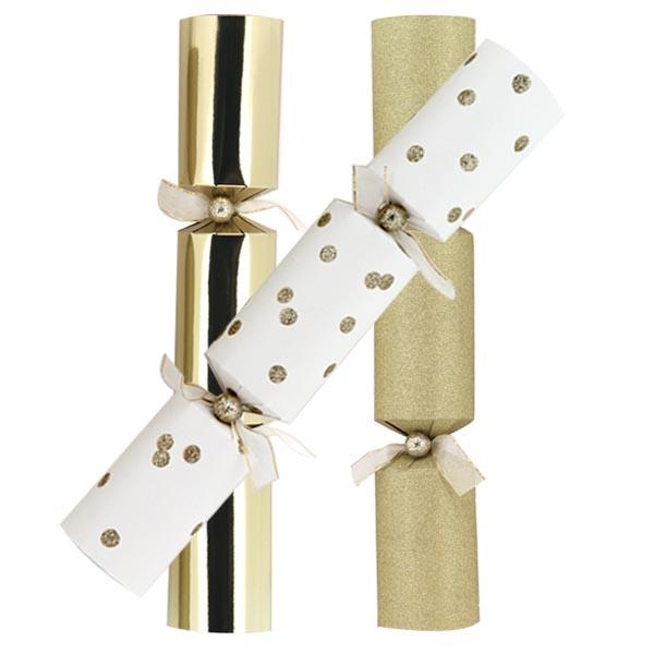 Gold Glitter Foil Dots