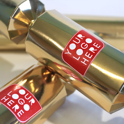 Customisable Christmas crackers