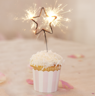 Star Sparklers (12cm) - Second Image