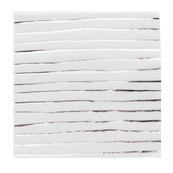 Stripe serviette