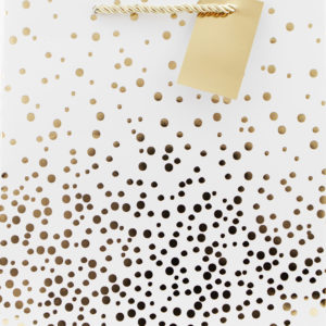 gold dot bag